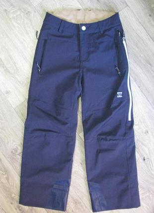 Новые штаны лыжные 134-140 см 9-10 лет мембранные maloja горнолыжные бовария