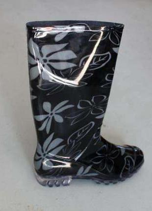 Женские резиновые сапоги demar hawai lady exclusive (цветы) 8d8b003c3f700