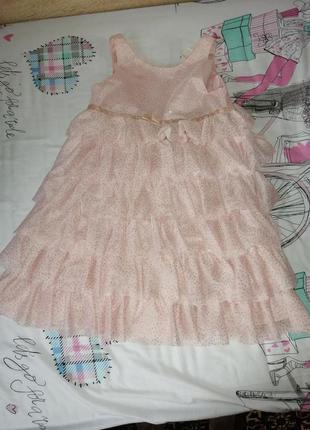 Платье h&m, размер 6_7 лет