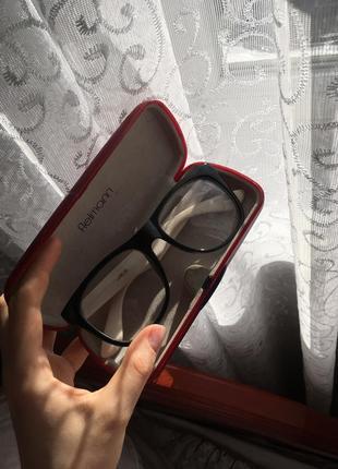 Очки прозрачные стекла