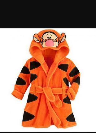 Махровый халатик тигра