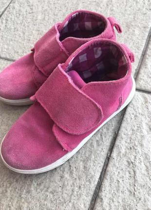 Замшевые мокасины кроссовки impidimpi