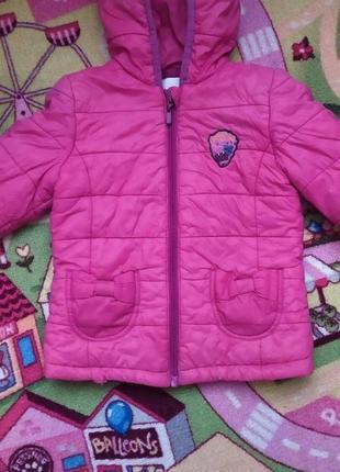 Курточка деми демисезонная легкая 104