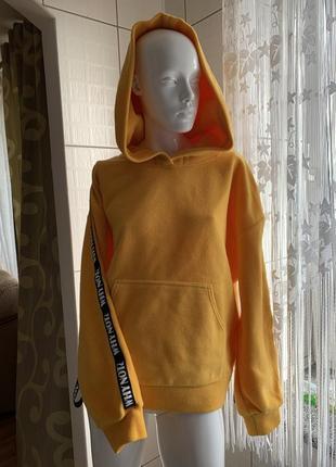 Прогулочный костюм на флисе штаны худи джемпер