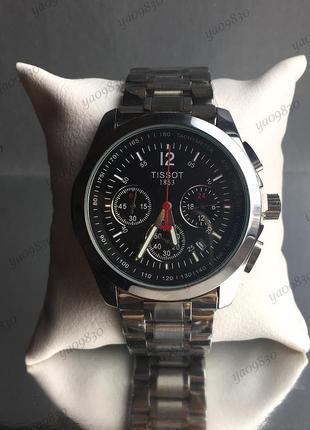 Tissot, мужские наручные часы, кварцевый хронограф