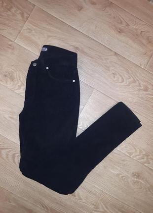 Мужские вельветовые черные штаны джинсы брюки exalt