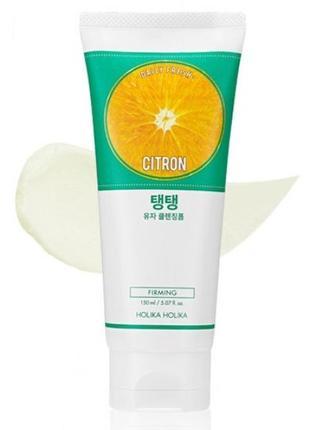 Пенка holika holika daily fresh citron cleansing foam - 150 ml