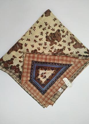 Набор хлопковых платков8платок*хлопковый платок *повязка на голову*бандана *скидка 10%