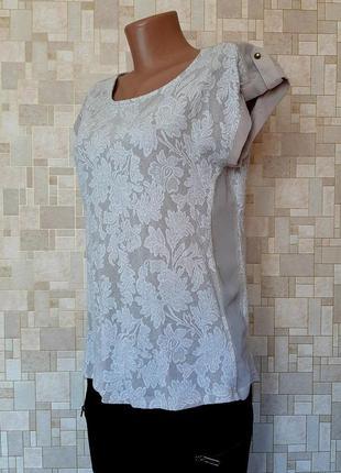Стильная блуза с набивным цветочным принтом warehouse.