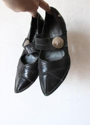 Туфли bata  натуральная кожа