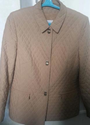 Куртка пиджак стёганая