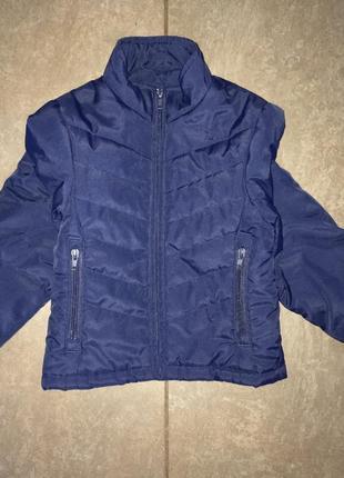 Демисезонная куртка для мальчика 3-4 года