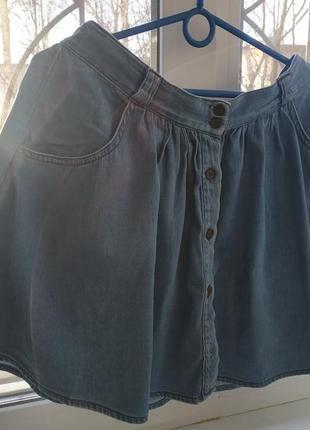 Джинсовая юбка miss denim