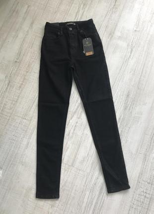 Чорні джинси з високою посадкою , турція5 фото