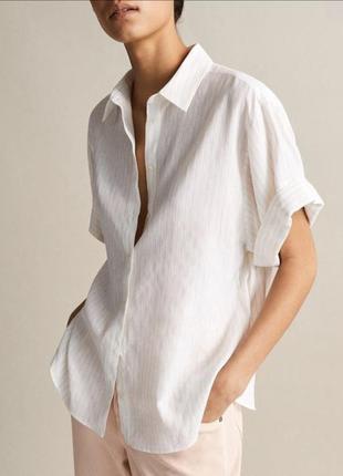 Блуза massimo dutti оригинал полоска