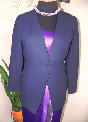 Шикарный брендовый пиджак на подкладке