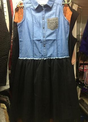 Плаття джинс