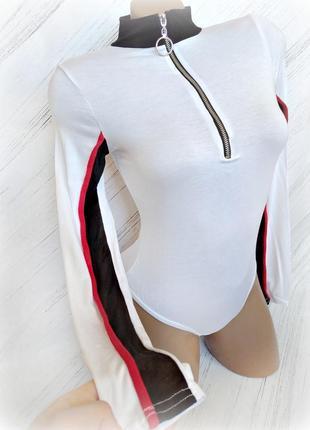 Умопомрачительный белый бодик от plt size uk 8