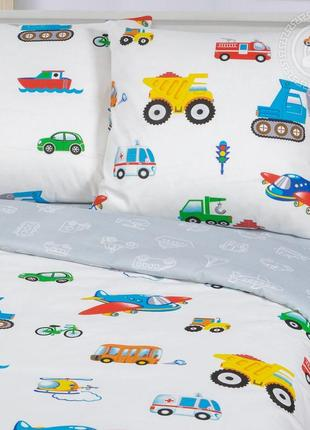 Моторчик -натуральное постельное белье из бязи