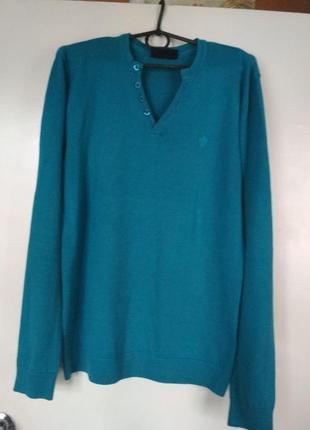 Тонкий светер  реглан john devin р. s- m р.46 - 48