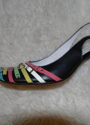 Кожаные chester туфельки