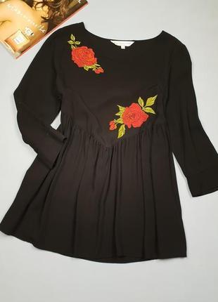 Красивая блуза с вышивкой f&f p.s