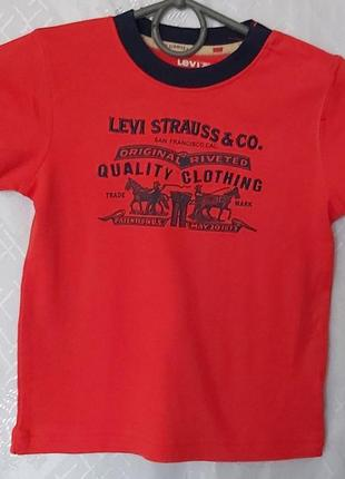 Levi's брендова футболка для хлопчика