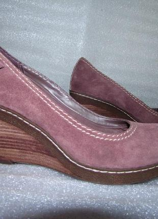Роскошь туфли 100%натуральная кожа~clarks~ р 37