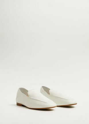 Шкіряне взуття mango