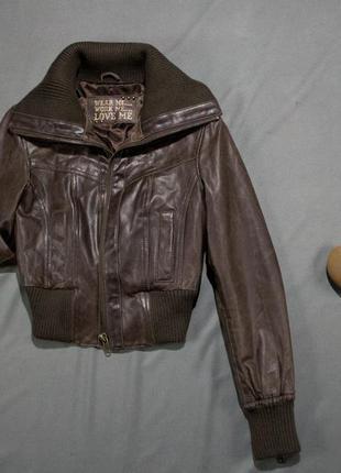 Куртка натур. кожа  /new look/