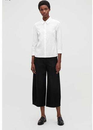 Sale. шерстяные кюлоты брюки с карманами