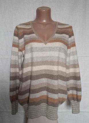 Кашемировый 100% джемпер свитер