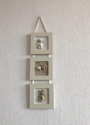 Декоративная досточка на стену