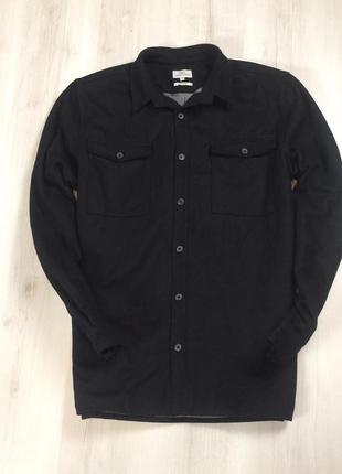 F9 пальто next 61%wool черное куртка шерстяное пальто