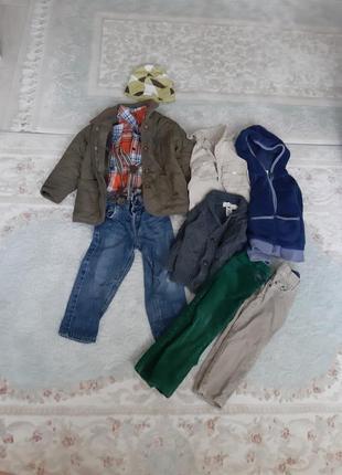 Продам набор одежды на мальчика 86-98 см из фирменных вещей