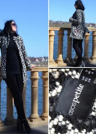 Ьркндовый пиджак asos/ вязаное пальто