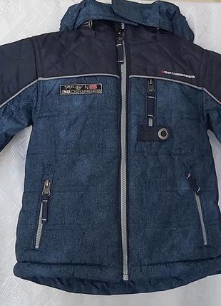 Дуже хороша осіння куртка для хлопчика 2-х років,  водонепроникна