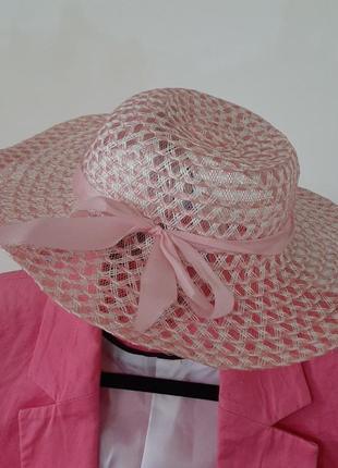 Шляпка летняя от солнца с резинкой #розвантажуюсь