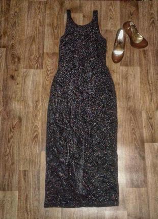 Блестящие коктельное платье.