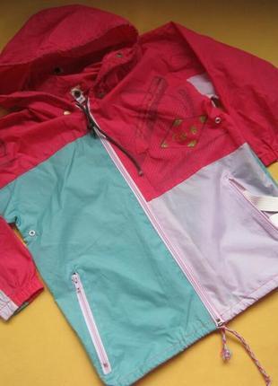 Куртка ветровка дождевик,складывается в карман и получается сумка