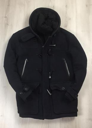 F9 пальто armani exchange армани чёрное