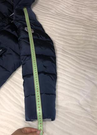 Зимнее полупальто куртка puros poro р.146-152 см.