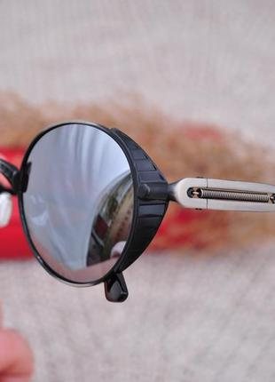 Фирменные круглые солнцезащитные очки havvs polarized с боковой шорой