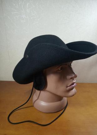 Шляпа фетровая ковбойка