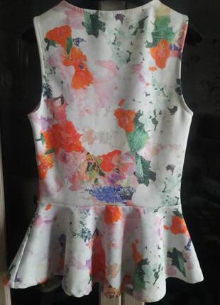 Офигительная блузочка с баской от h&m