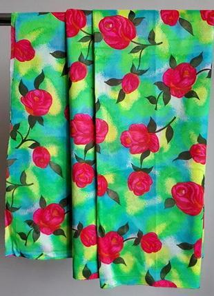 """Inter textiles """"fleurs de paris"""" - занавеска, штора, гардина 90х500 франция"""