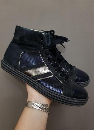 Hogan весенние кеды туфли