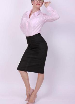 Идеальный строгий костюм двойка (юбка и жилетка)