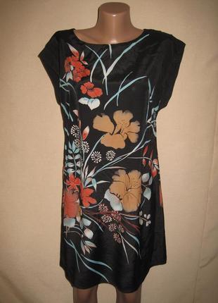 Вискозное платье дороти перкинс р-р12,