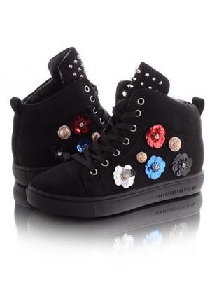 Классные ботинки, сникерсы, 37, стелька 23,5 см